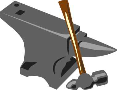 Anvil clipart vector. Panda free images anvilclipart
