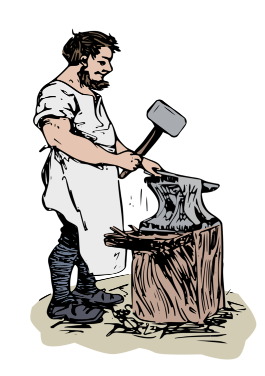 Anvil clipart blacksmith. Issi hammer drawing free