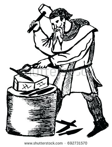 anvil clipart medieval