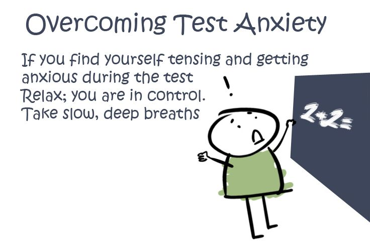 Anxiety clipart tensed. Overcoming test if you