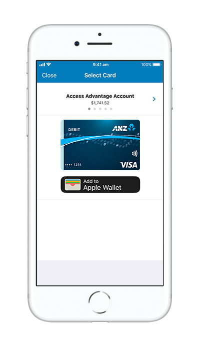Anz internet banking png. Set up apple pay