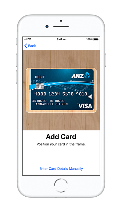 Anz png internet banking. Set up apple pay