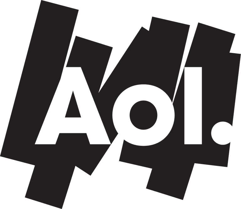 Transparent one logo aol. How to search email