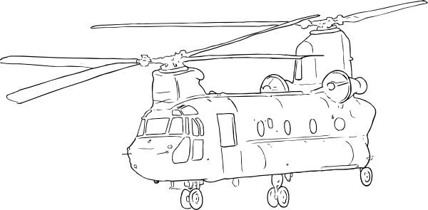 drawing helicopters