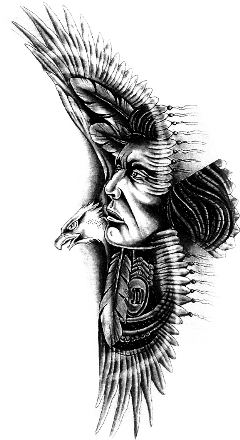 Apache drawing detailed. Popular and trending stickers