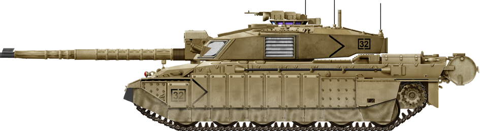 Apache drawing army tank. Challenger in iraq tanks