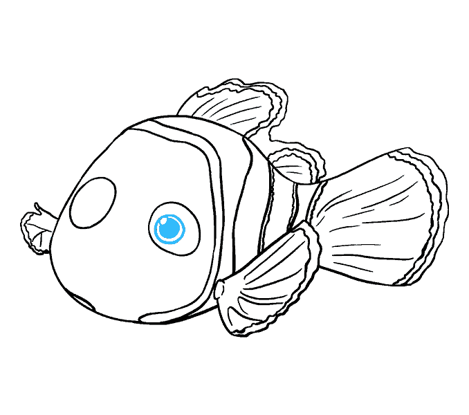 Drawing nemo line. Simple tank at getdrawings