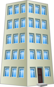Apartment clipart blue building. Computer icons house download