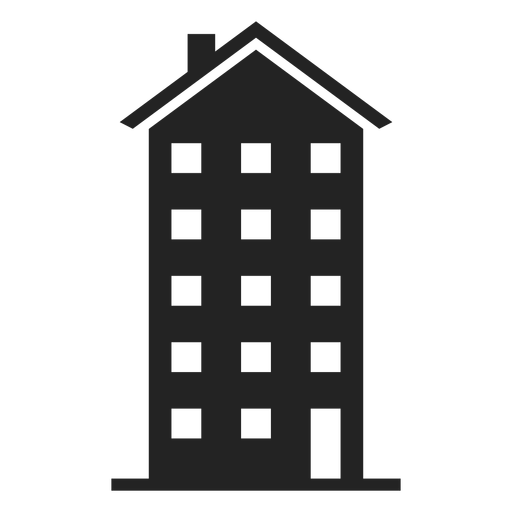 Transparent building tall. Apartment icon png svg