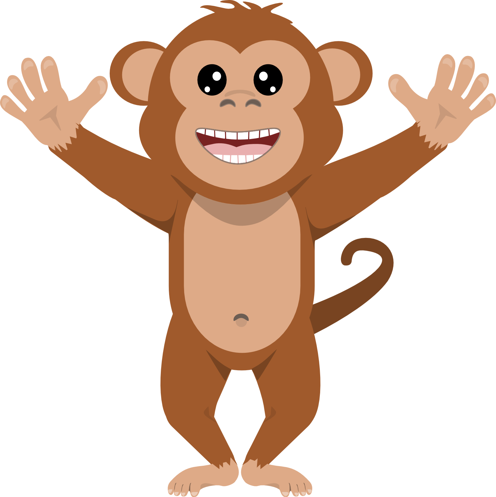 Monkey clipart png. Ape mixed scrapbooking and