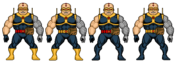 Apocalypse marvel png. Strong guy age of