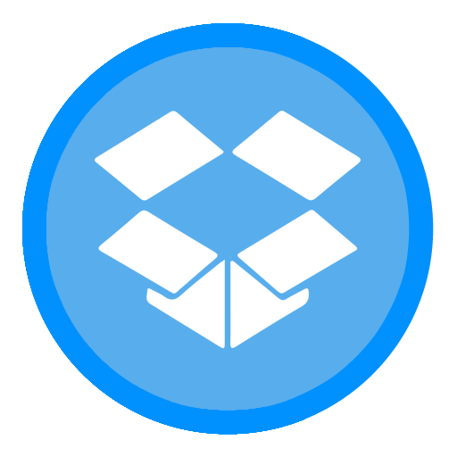 App icon png. Dropbox the circle iconset