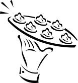 Appetizers clipart. Hors d oeuvres clip