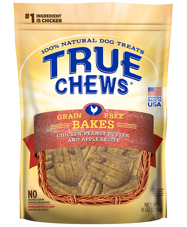 Apple and peanut butter png. True chews grain free