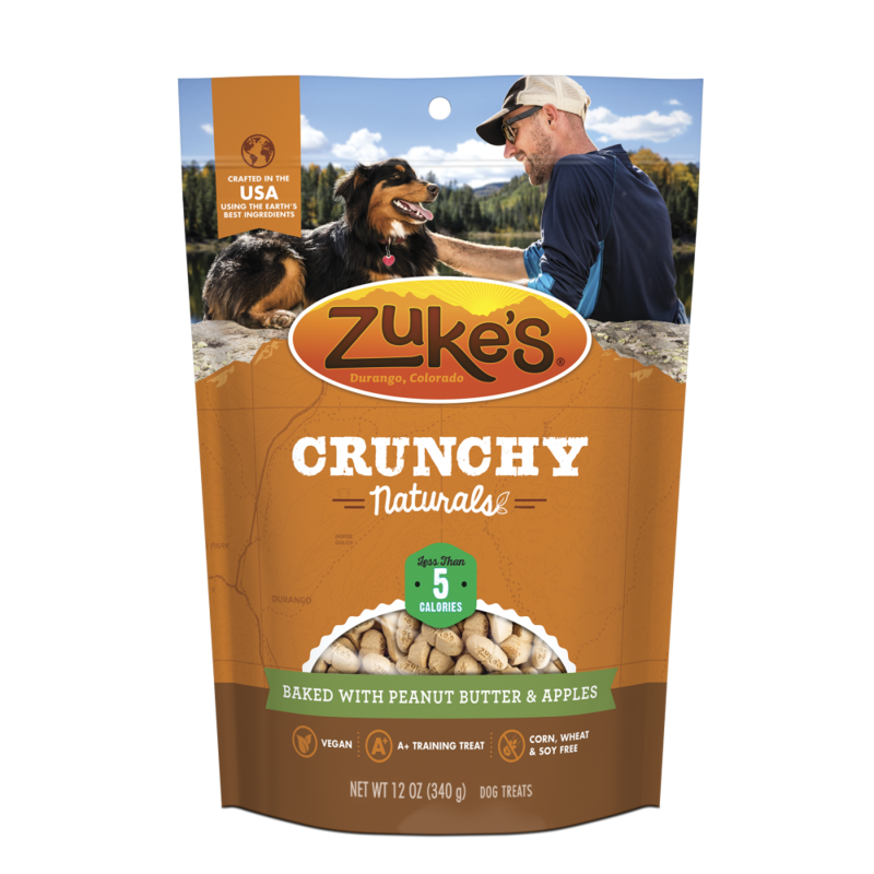 Apple and peanut butter png. Zukes crunchy naturals baked