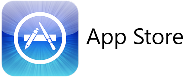 Apple App Store Logo Transparent & PNG Clipart Free Download - YA