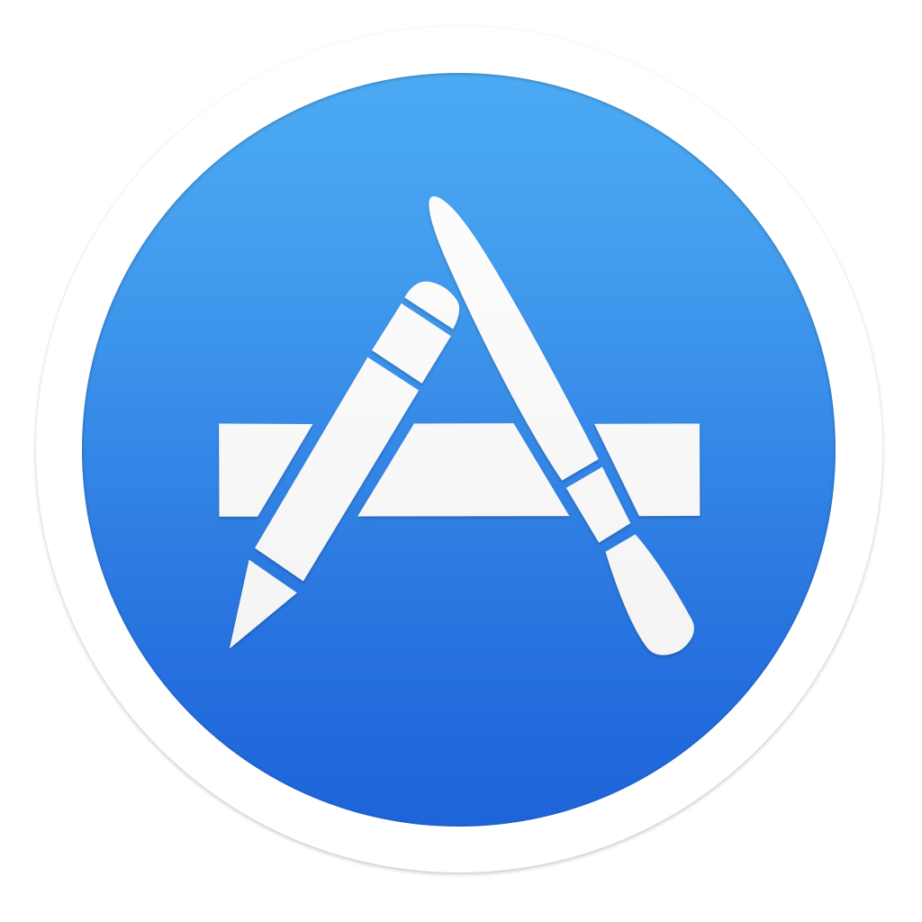 Apple app store logo png. Ios inspired mac icon