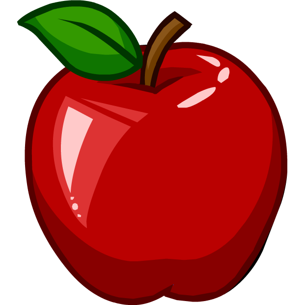Apple cartoon png. Image apples puffle food