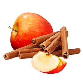 Cinnamon png. Scented candle apple biofarm