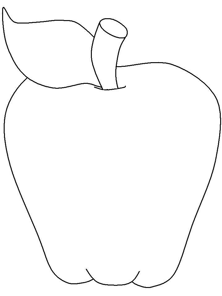 Apple clipart template. The panda free images