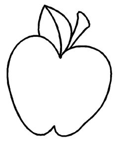 Apple clipart template. Use blank templates for