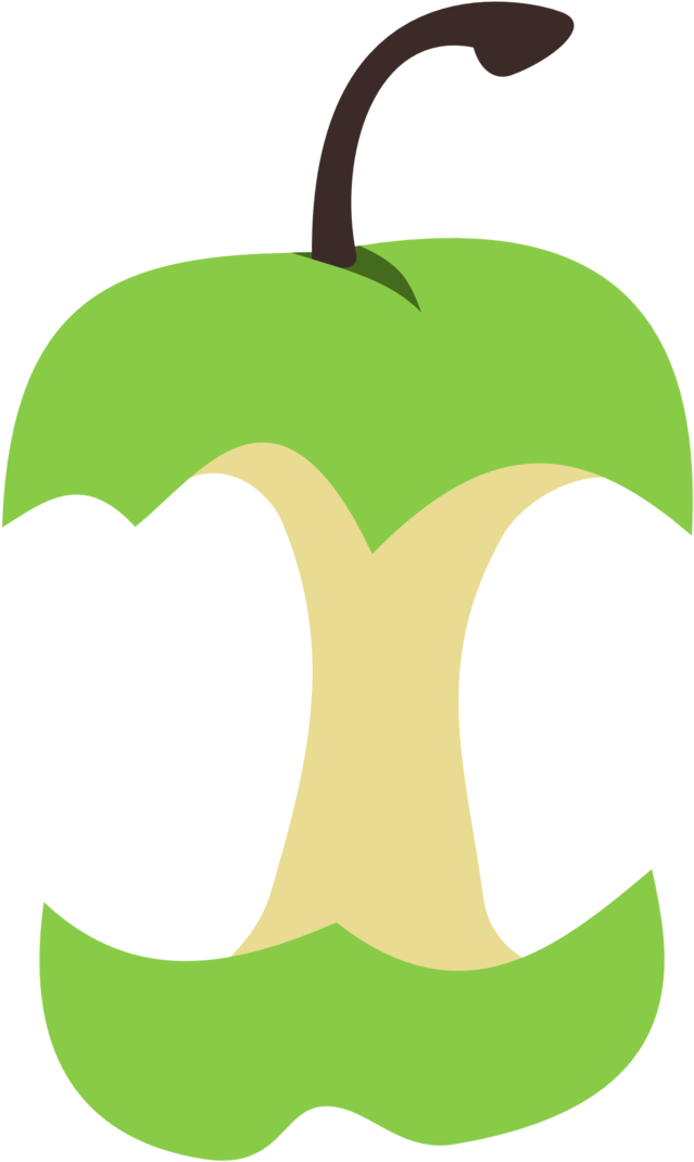 Apple core png. Download cutie mark by