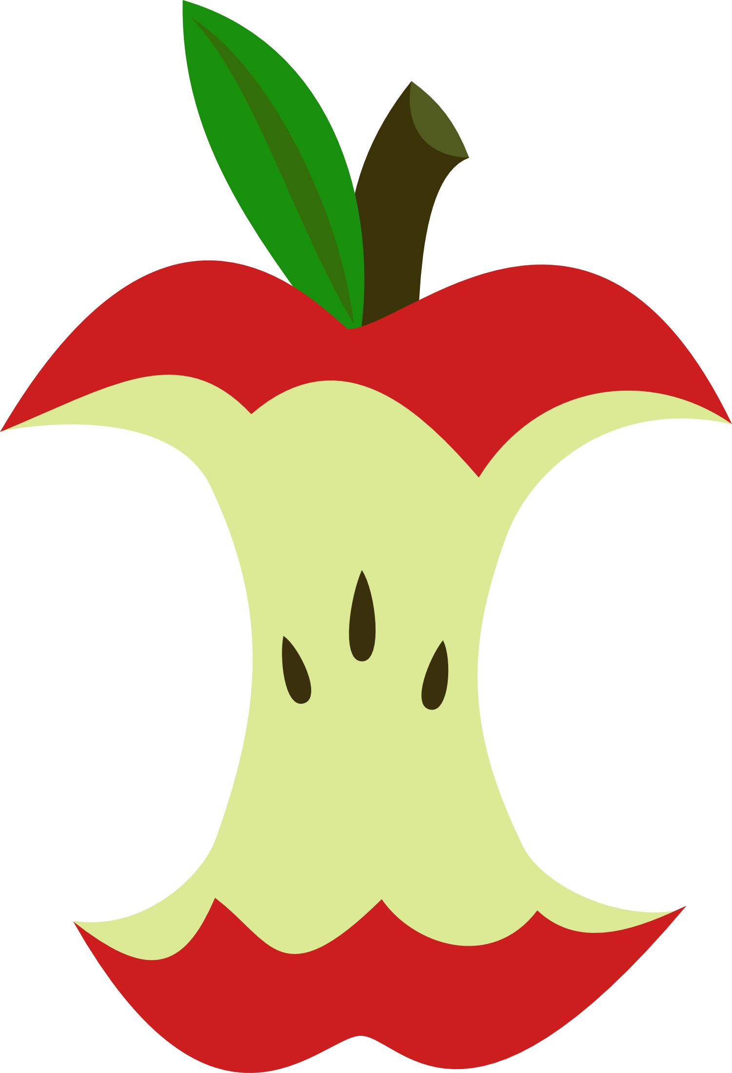 apple core png