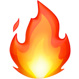 Emoji png iphone. Fire on apple