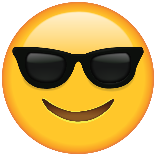 sunglass svg emoticon