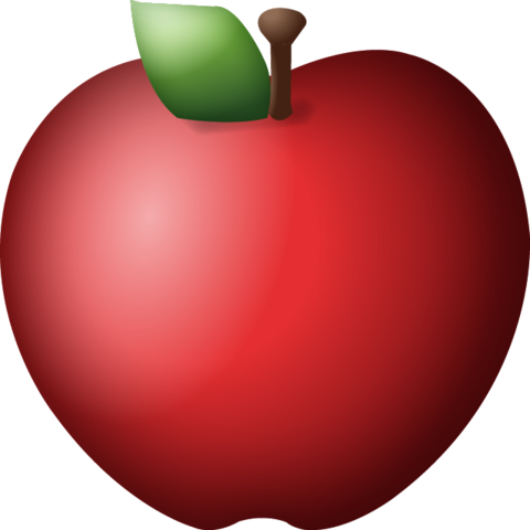 Apple emoji png. Download red island icon