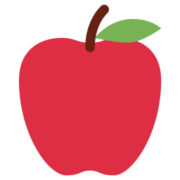Apple fruit icon png. Free download in svg