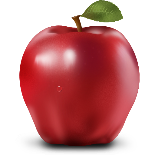 Apple fruit png. Paradise icons by artbees