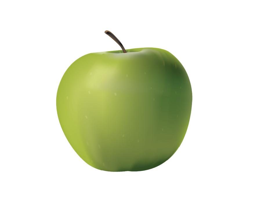 Green apples png. Apple by moonglowlilly on