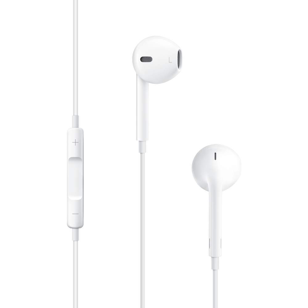 Ear pods png. Apple earpods with remote