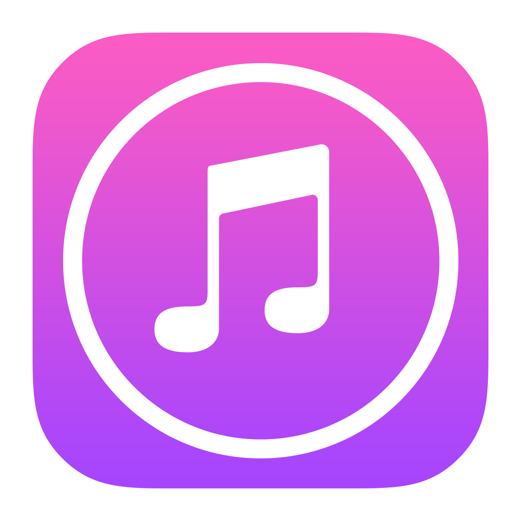 Apple itunes png. Store icon image purepng