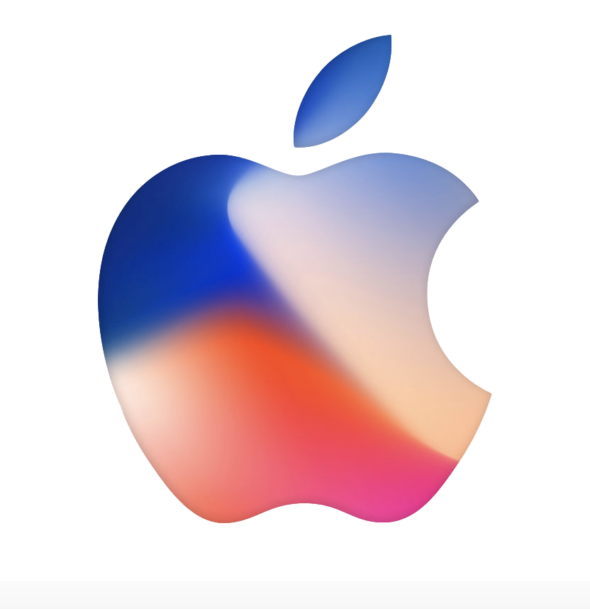 Apple logo color png. Stock news