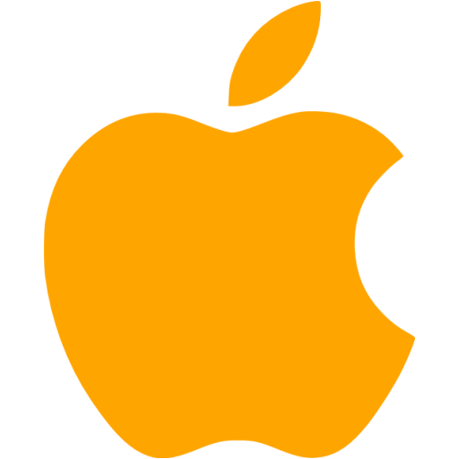Apple logo png transparent background.