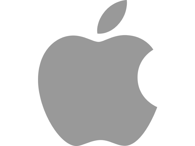 Apple logo png white. Transparent svg vector freebie