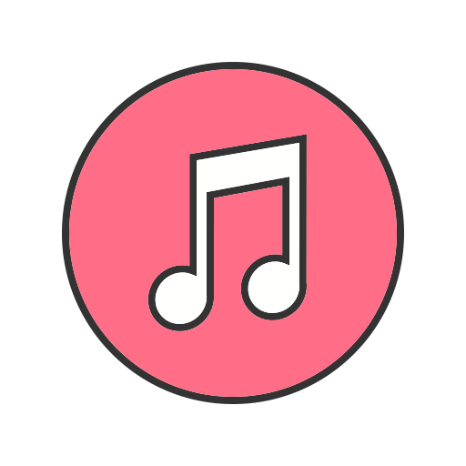 Apple music icon png. App display showing itunes