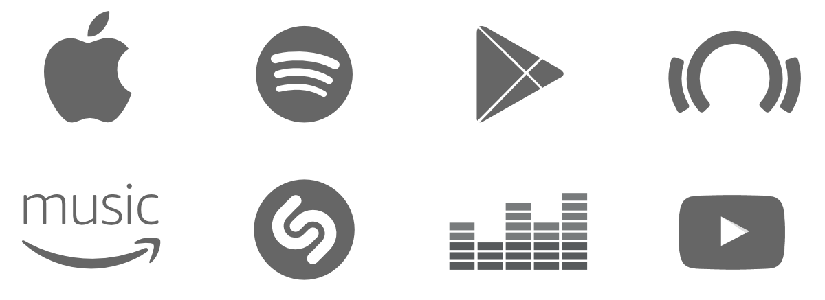 Apple music logo png. Youtube streaming media transprent