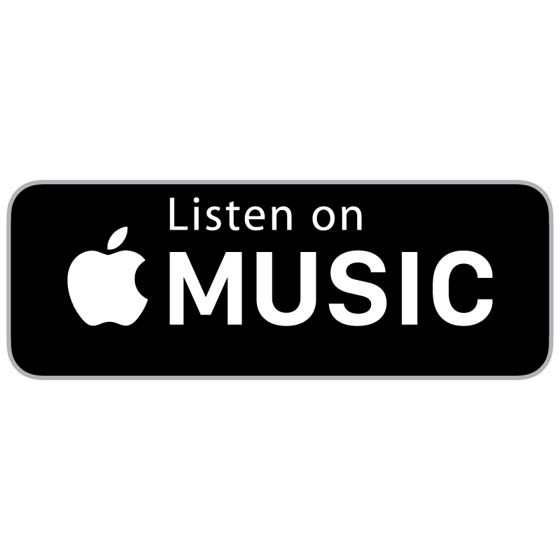 Apple music png. Listen on badge state