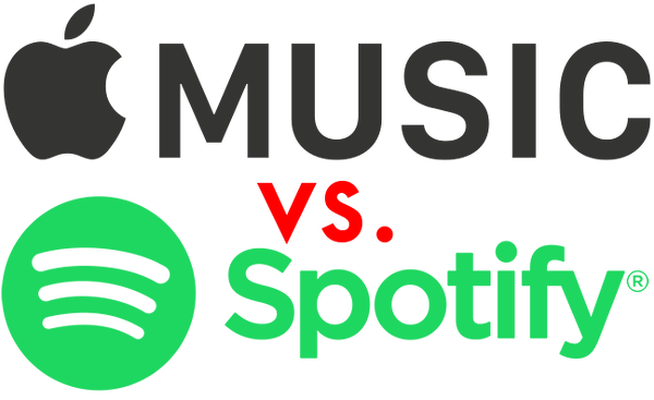 Apple music png logo. Vs spotify page appledystopia