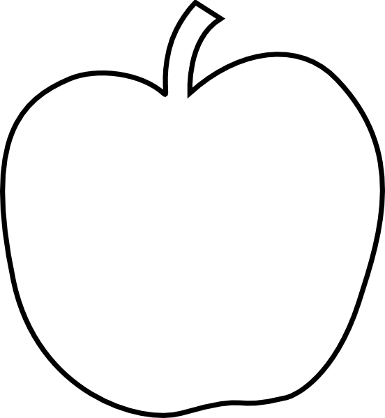 Apple outline png. Transparent images pluspng