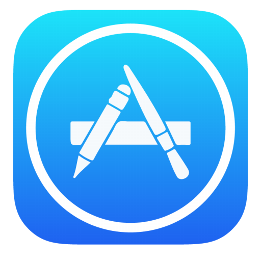 Apple store icon png. App stock style iconset