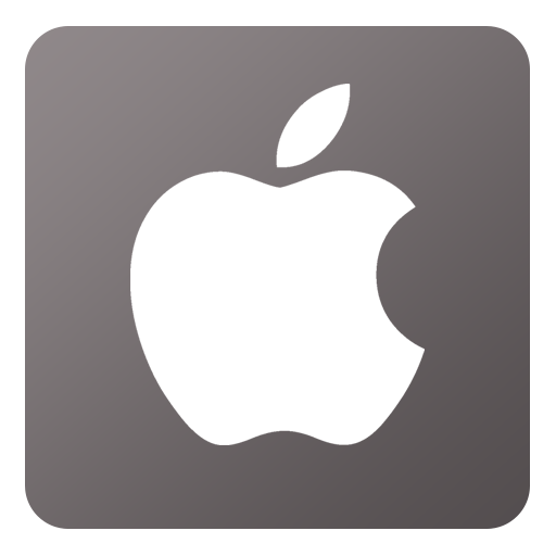 Apple store icon png. Flat gradient social iconset