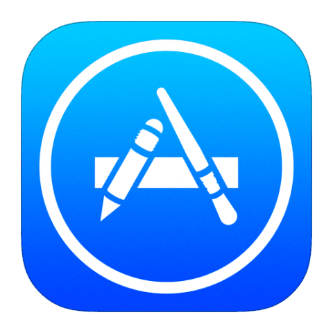 Apple store png. App icon ios free