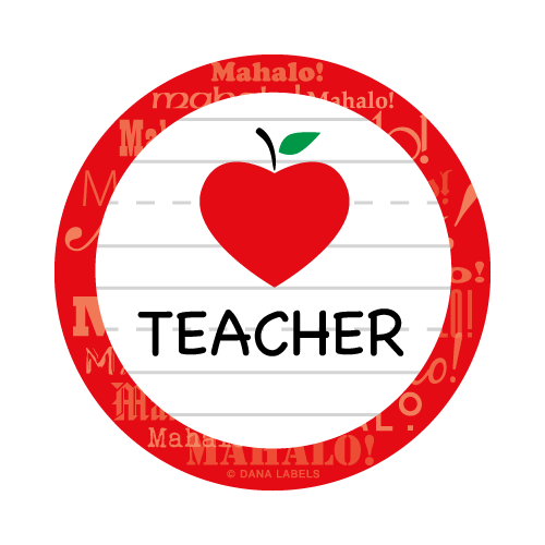 Apple teacher png. With transparent images borders