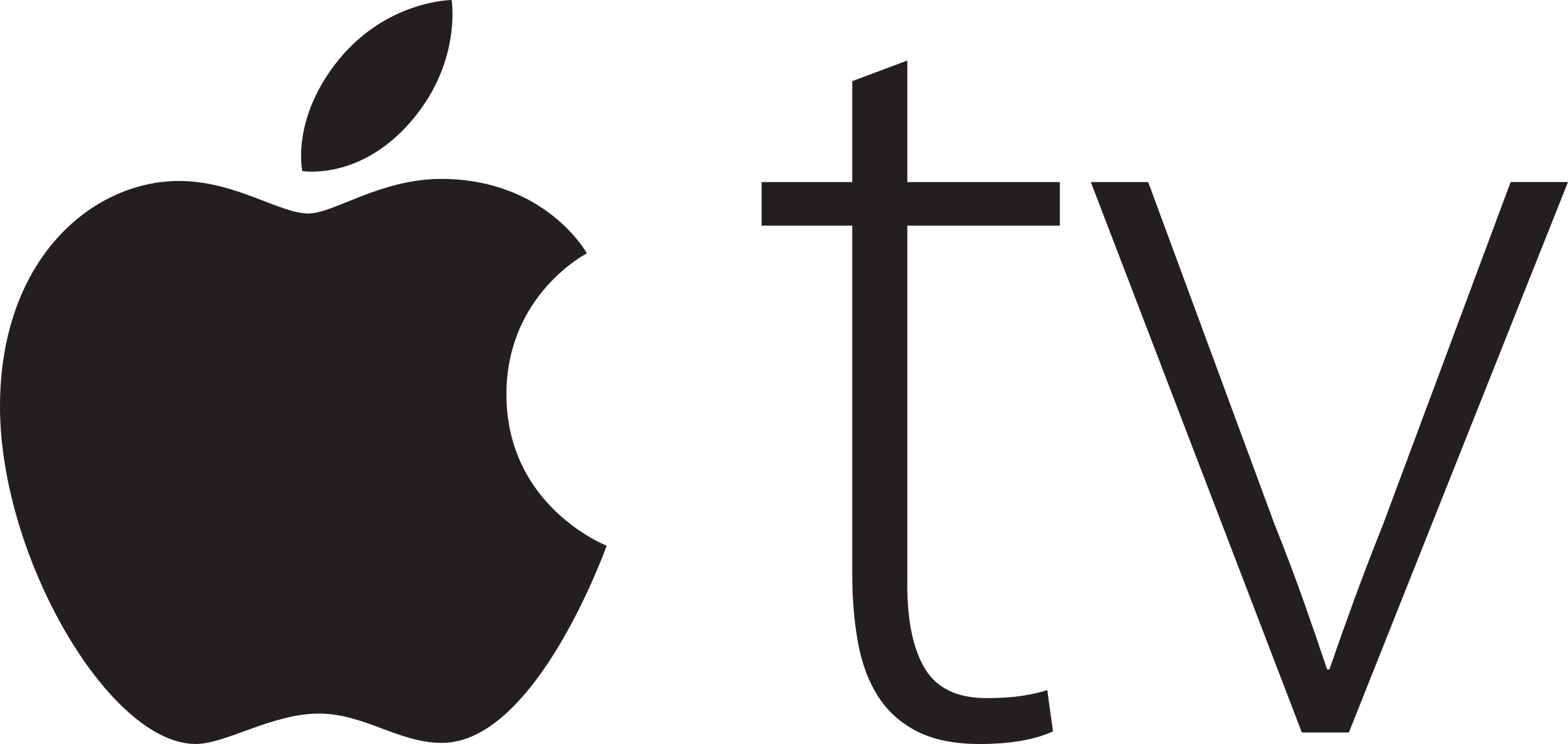 Tv logo png. Apple transparent svg vector