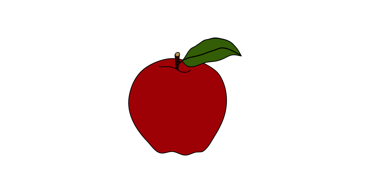 Apple vector png. Red illustration and free