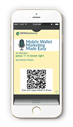 Apple wallet pass png. How to market today